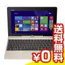 【再生品】TransBook T100TAM-B-GS 【Atom(4コア)/4GB/32GB+HDD500GB/Win 8.1/ゴールド】[中古Bランク]【当...