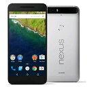 白ロム SoftBank Nexus 6P H1512 32GB Aluminum(Silver)[中古Bランク]【当社1ヶ月間保証】 スマホ 中古 本体 送料...