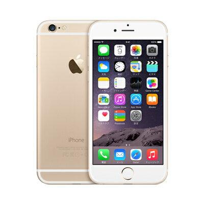 白ロム au iPhone6 64GB A1586 (MG4J2J/A) ゴールド[中古Cランク]【当社3ヶ月間保証】 スマホ 中古 本体 送料無料【中古】 【 中古スマホとタブレット販売のイオシス 】