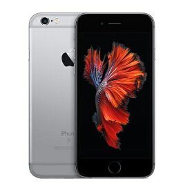 SIMフリー iPhone6s A1688 (MKQT2J/A) 128GB スペースグレイ [国内版SIMフリー][中古Bランク]【当社3ヶ月間保証】 スマホ 中古 本体 送料無料【中古】 【 中古スマホとタブレット販売のイオシス 】