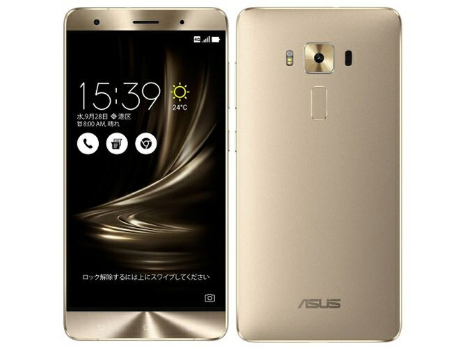 SIMフリー ASUS ZenFone3 Deluxe Dual SIM ZS550KL 64GB Gold【国内版 SIMフリー】[中古Aランク]【当社1ヶ月間保証】 スマホ 中古 本体 送料無料【中古】 【 中古スマホとタブレット販売のイオシス 】