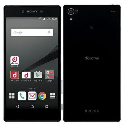 白ロム docomo Xperia Z5 Premium SO-03H Black[中古Bランク]【当社3ヶ月間保証】 スマホ 中古 本体 送料無料【中古】 【 中古スマホとタブレット販売のイオシス 】