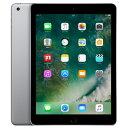 iPad 2017 Wi-Fi Cellular (MP1J2J/A) 32GB スペースグレイ【国内版SIMフリー】[中古Aランク]【当社1ヶ月間保証】 タブレット 中古 本体 送料無料【中古】 【