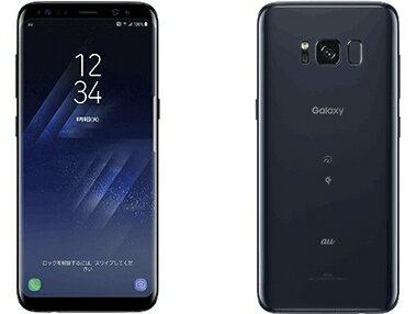 白ロム au 未使用 Galaxy S8 SCV36 Midnight Black【当社6ヶ月保証】 スマホ 中古 本体 送料無料【中古】 【 中古スマホとタブレット販売のイオシス 】