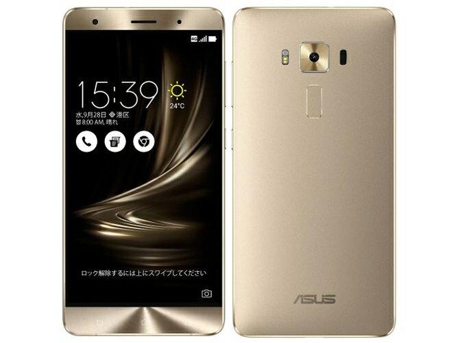 SIMフリー ASUS ZenFone3 Deluxe Dual SIM ZS550KL 64GB Gold【国内版 SIMフリー】[中古Cランク]【当社1ヶ月間保証】 スマホ 中古 本体 送料無料【中古】 【 中古スマホとタブレット販売のイオシス 】