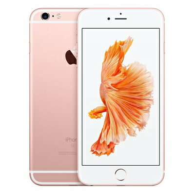 白ロム docomo iPhone6s Plus 64GB A1687 (MKU92J/A) ローズゴールド[中古Aランク]【当社1ヶ月間保証】 スマホ 中古 本体 送料無料【中古】 【 中古スマホとタブレット販売のイオシス 】