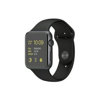 【送料無料】当社1ヶ月間保証[中古Cランク]■Apple Apple Watch Sport 42mm (MJ3T2J/A) 【ブラックスポーツバンド】【周辺機器】中古【中古】 【 中古スマホとタブレット販売のイオシス 】