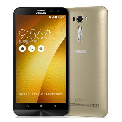 SIMフリー ASUS ZenFone2 Laser 6.0 Dual ZE601KL-GD32S3 Gold【RAM3GB/ROM32GB/国内版SIMフリー】[新品]【当社6ヶ月保証】 スマホ 本体 送料無料 【 中古スマホとタブレット販売のイオシス 】