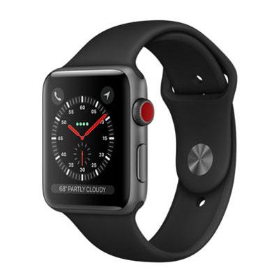 【送料無料】当社1ヶ月間保証[中古Aランク]■Apple Apple Watch Series 3 GPS+Cellularモデル 42mm MQKN2J/A 【ブラックスポーツバンド】【周辺機器】中古【中古】 【 中古スマホとタブレット販売のイオシス 】