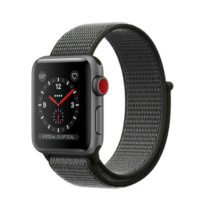 【送料無料】当社1ヶ月間保証[中古Aランク]■Apple Apple Watch Series 3 GPS+Cellularモデル 38mm MQKK2J/A [スペースグレイアルミニウム]【周辺機器】中古【中古】 【 中古スマホとタブレット販売のイオシス 】