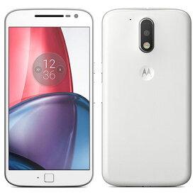SIMフリー Motorola Moto G4 PLUS XT1642 [32GB, White 国内版 SIMフリー][中古Cランク]【当社3ヶ月間保証】 スマホ 中古 本体 送料無料【中古】 【 中古スマホとタブレット販売のイオシス 】