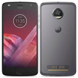 SIMフリー Motorola Moto Z2 Play XT1710-09 Lunar Gray [国内版SIMフリー][中古Cランク]【当社3ヶ月間保証】 スマホ 中古 本体 送料無料【中古】 【 中古スマホとタブレット販売のイオシス 】