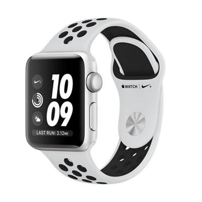 【送料無料】当社6ヶ月保証[未使用品]■Apple Apple Watch Nike+ Series 3 GPSモデル 38mm MQKX2J/A [ピュアプラチナ/ブラックNikeスポーツバンド]【周辺機器】中古【中古】 【 中古スマホとタブレット販売のイオシス 】