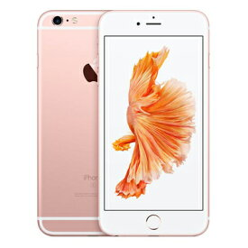 【SIMロック解除済】au iPhone6s Plus 64GB A1687 (MKU92J/A) ローズゴールド Apple 当社3ヶ月間保証 中古 【 中古スマホとタブレット販売のイオシス 】