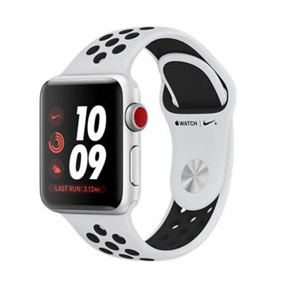 【送料無料】当社1ヶ月間保証[中古Aランク]■Apple Apple Watch Nike+ Series 3 GPSモデル 38mm MQM72J/A (プラチナ/ブラック)【周辺機器】中古【中古】 【 中古スマホとタブレット販売のイオシス 】