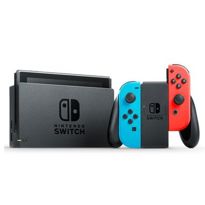 【送料無料】メーカー保証[未使用品]■Nintendo Nintendo Switch (ネオンブルー/ネオンレッド)中古【中古】 【 中古スマホとタブレット販売のイオシス 】