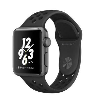 【送料無料】当社1ヶ月間保証[中古Cランク]■Apple Apple Watch Nike+ 38mm MQ1K2J/A [アンスラサイト/ブラックNikeスポーツバンド]【周辺機器】中古【中古】 【 中古スマホとタブレット販売のイオシス 】