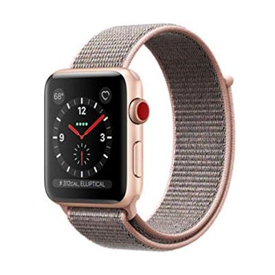 【送料無料】当社1ヶ月間保証[中古Bランク]■Apple Apple Watch Series 3 GPS+Cellularモデル 42mm MQKT2J/A 【ピンクサンドスポーツループ】【周辺機器】中古【中古】 【 中古スマホとタブレット販売のイオシス 】