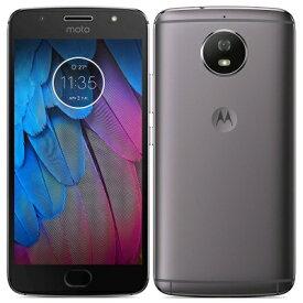 SIMフリー Motorola Moto G5S XT1797 [32GB Luna Gray 国内版SIMフリー][中古Bランク]【当社3ヶ月間保証】 スマホ 中古 本体 送料無料【中古】 【 中古スマホとタブレット販売のイオシス 】