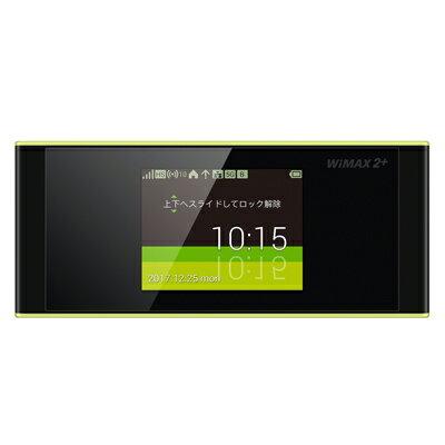白ロム 未使用 【au版】Speed Wi-Fi NEXT W05 HWD36SKA ブラック×ライム【当社6ヶ月保証】 モバイルルーター au 中古 本体 送料無料【中古】 【 中古スマホとタブレット販売のイオシス 】