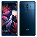 SIMフリー Huawei Mate 10 Pro BLA-L29 Midnight Blue【国内版SIMフリー】[中古Aランク]【当社3ヶ月間保証】 スマホ...