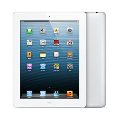 SIMフリー 【第4世代】iPad Retina Wi-Fi Cellular (MD525ZP/A) 16GB ホワイト【海外版 SIMフリー】[中古Cランク]【当社3ヶ月間保証】 タブレット 中古 本体 送料無料【中古】 【 中古スマホとタブレット販売のイオシス 】