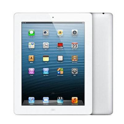 SIMフリー 【第4世代】iPad Retina Wi-Fi Cellular (MD525ZP/A) 16GB ホワイト【海外版 SIMフリー】[中古Bランク]【当社3ヶ月間保証】 タブレット 中古 本体 送料無料【中古】 【 中古スマホとタブレット販売のイオシス 】