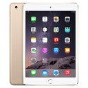 【第3世代】iPad mini3 Wi-Fi 16GB ゴールド MGYE2J/A A1599[中古Aランク]【当社3ヶ月間保証】 タブレット 中古 本体 送料無料【中古】 【 中古スマホとタブレット販売のイオシス 】