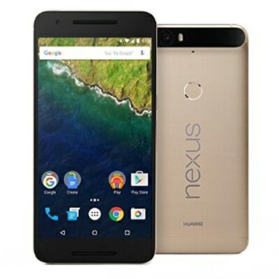 SIMフリー Google Nexus6P H1512 64GB Gold 【国内版SIMフリー】[中古Cランク]【当社1ヶ月間保証】 スマホ 中古 本体 送料無料【中古】 【 中古スマホとタブレット販売のイオシス 】