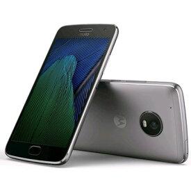 SIMフリー Motorola Moto G5 PLUS XT1685 [32GB, Lunar Gray 国内版 SIMフリー][中古Bランク]【当社3ヶ月間保証】 スマホ 中古 本体 送料無料【中古】 【 中古スマホとタブレット販売のイオシス 】