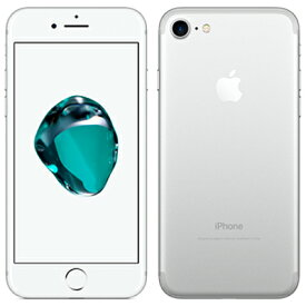 【SIMロック解除済】SoftBank iPhone7 128GB A1779 (MNCL2J/A) シルバー Apple 当社3ヶ月間保証 中古 【 中古スマホとタブレット販売のイオシス 】