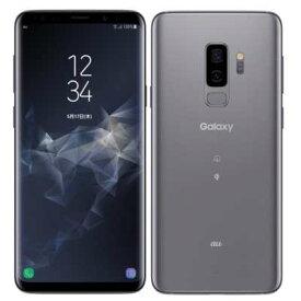 白ロム au 【SIMロック解除済】Galaxy S9+ (Plus) SCV39 Titanium Gray[中古Aランク]【当社3ヶ月間保証】 スマホ 中古 本体 送料無料【中古】 【 中古スマホとタブレット販売のイオシス 】