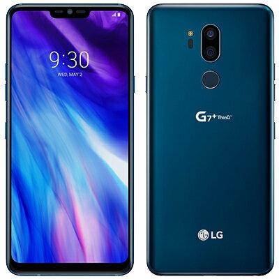 SIMフリー LG G7 Plus ThinQ LM-G710EAW Dual SIM LTE [128GB Blue 海外版 SIMフリー][中古Aランク]【当社3ヶ月間保証】 スマホ 中古 本体 送料無料【中古】 【 中古スマホとタブレット販売のイオシス 】