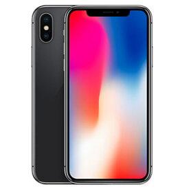 【SIMロック解除済】docomo iPhoneX 256GB A1902 (MQC12J/A) スペースグレイ Apple 当社3ヶ月間保証 中古 【 中古スマホとタブレット販売のイオシス 】