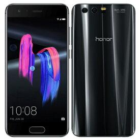 Huawei Honor9 STF-L09 Midnight Black【国内版 SIMフリー】 Huawei 当社3ヶ月間保証 中古 【 中古スマホとタブレット販売のイオシス 】
