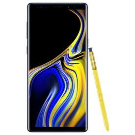 SIMフリー 未使用 Samsung Galaxy note9 Dual-SIM SM-N9600【Ocean Blue 6GB 128GB 香港版 SIMフリー】【当社6ヶ月保証】 スマホ 中古 本体 送料無料【中古】 【 中古スマホとタブレット販売のイオシス 】