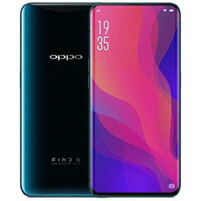 SIMフリー OPPO Find X Dual-SIM [Glacier Blue 8GB 128GB 中国版 SIMフリー][中古Aランク]【当社3ヶ月間保証】 スマホ 中古 本体 送料無料【中古】 【 中古スマホとタブレット販売のイオシス 】