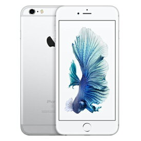 【SIMロック解除済】au iPhone6s Plus A1687 (MKU22J/A) 16GB シルバー Apple 当社3ヶ月間保証 中古 【 中古スマホとタブレット販売のイオシス 】