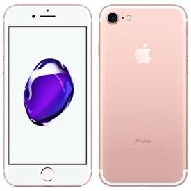 【SIMロック解除済】au iPhone7 32GB A1779 (MNCJ2J/A) ローズゴールド Apple 当社3ヶ月間保証 中古 【 中古スマホとタブレット販売のイオシス 】