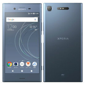 【SIMロック解除済】au Sony Xperia XZ1 SOV36 Moonlit Blue SONY 当社3ヶ月間保証 中古 【 中古スマホとタブレット販売のイオシス 】