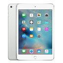【SIMロック解除済】【第4世代】docomo iPad mini4 Wi-Fi+Cellular 16GB シルバー MK702J/A A1550 Apple 当社3ヶ月間…
