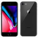 白ロム au 未使用 【SIMロック解除済】iPhone8 64GB A1906 (MQ782J/A) スペースグレイ 【2018】【当社6ヶ月保証】 ス…