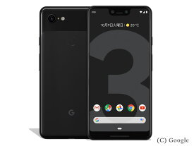 Google Pixel3 XL G013D [Just Black 64GB]【国内版SIMフリー】 Google 当社3ヶ月間保証 中古 【 中古スマホとタブレット販売のイオシス 】