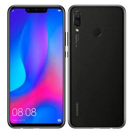 Huawei nova3 PAR-LX9 Black【国内版 SIMフリー】 Huawei 当社3ヶ月間保証 中古 【 中古スマホとタブレット販売のイオシス 】