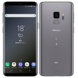 白ロム au 【SIMロック解除済】Galaxy S9 SCV38 Titanium Gray[中古Aランク]【当社3ヶ月間保証】 スマホ 中古 本体 送料無料【中古】 【 中古スマホとタブレット販売のイオシス 】