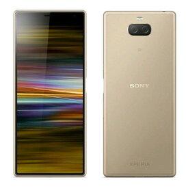 SIMフリー 未使用 Sony Xperia 10 Plus Dual I4293 [Gold 6GB 64GB 海外版 SIMフリー]【当社6ヶ月保証】 スマホ 中古 本体 送料無料【中古】 【 中古スマホとタブレット販売のイオシス 】
