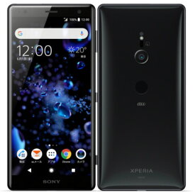 【SIMロック解除済】au Sony Xperia XZ2 SOV37 Liquid Black SONY 当社3ヶ月間保証 中古 【 中古スマホとタブレット販売のイオシス 】
