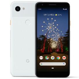 白ロム SoftBank 未使用 【SIMロック解除済】Google Pixel3a G020H [Clearly White 64GB]【当社6ヶ月保証】 スマホ 中古 本体 送料無料【中古】 【 中古スマホとタブレット販売のイオシス 】