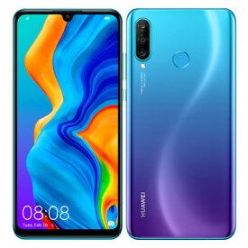 HUAWEI P30 lite MAR-LX2J Peacook Blue【国内版 SIMFREE】 Huawei 当社3ヶ月間保証 中古 【 中古スマホとタブレット販売のイオシス 】