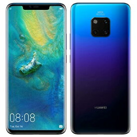 Huawei Mate 20 Pro Dual LYA-L29【Twilight 国内版 SIMフリー】 Huawei 当社3ヶ月間保証 中古 【 中古スマホとタブレット販売のイオシス 】
